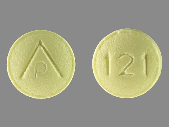 Aspirin delayed release 81 mg AP 121