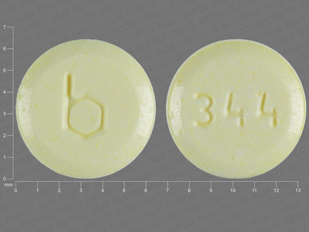 Pill Imprint 344 b (Errin 0.35 mg)