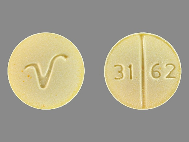 Pill Imprint V 31 62 (Folic Acid 1 mg)