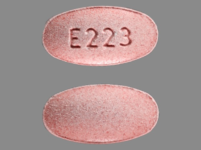 Montelukast sodium (chewable) 4 mg (base) E223