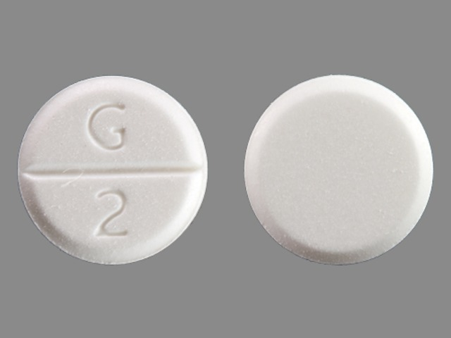 Pill Imprint G 2 (Glycopyrrolate 2 mg)