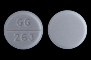 Pill Imprint GG 263 (Atenolol 50 mg)