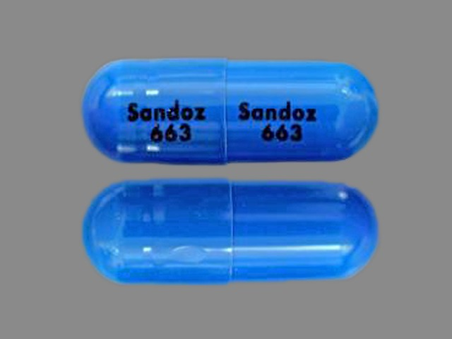 sandoz 663 sandoz 663 pill images (blue / capsule-shape), Skeleton