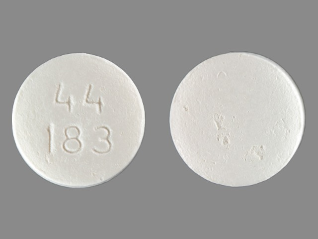 Pill Imprint 44 183  (Tri-Buffered Aspirin 325 mg)