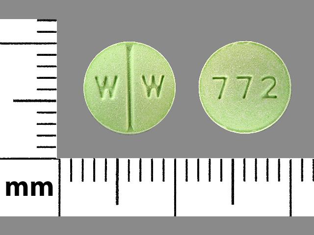 Isosorbide dinitrate 20 mg W W 772