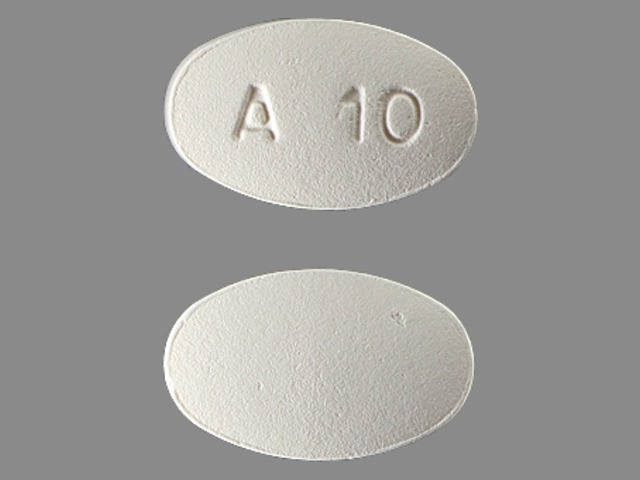 Pill Imprint A10 (Ampyra 10 mg)
