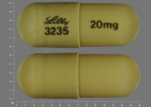 Pill Imprint Lilly 3235 20 mg (Cymbalta 20 mg)