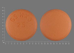 Pill Imprint GS NX3 25  (Promacta 25 mg)