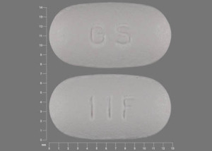 Pill Imprint GS 11F (Requip XL 6 mg)