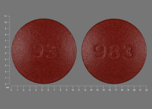 Pill Imprint 93 983 (Nystatin 500000 units)