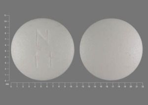 Pill Imprint N 11  (Methyldopa 250 mg)
