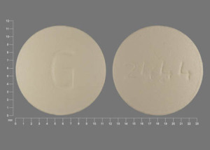Pill Imprint G 2444 (Buproban bupropion 150 mg)