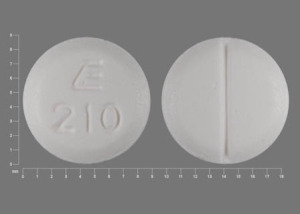 Methimazole 10 mg E 210