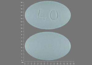 Pill Imprint 40  (Viibryd 40 mg)