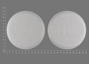Acetaminophen 500 mg L405 500MG