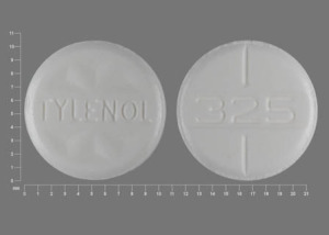Tylenol Regular Strength 325 mg