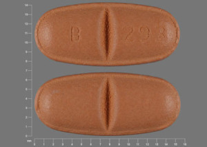 Oxcarbazepine 300 mg B 293