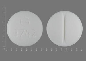 Pill Imprint G 3742  (Medroxyprogesterone Acetate 10 mg)