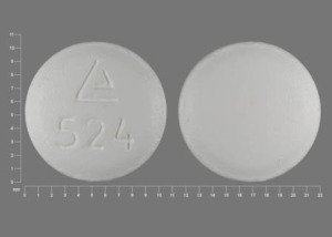Hydrocodone Bitartrate and Ibuprofen Logo 524
