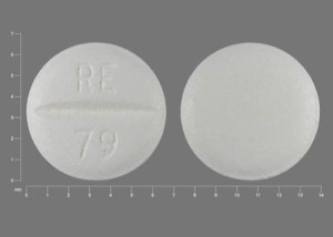 Metoprolol tartrate 25 mg RE 79