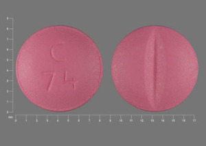 Metoprolol tartrate 50 mg C 74