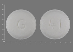 Carvedilol 6.25 mg G 41