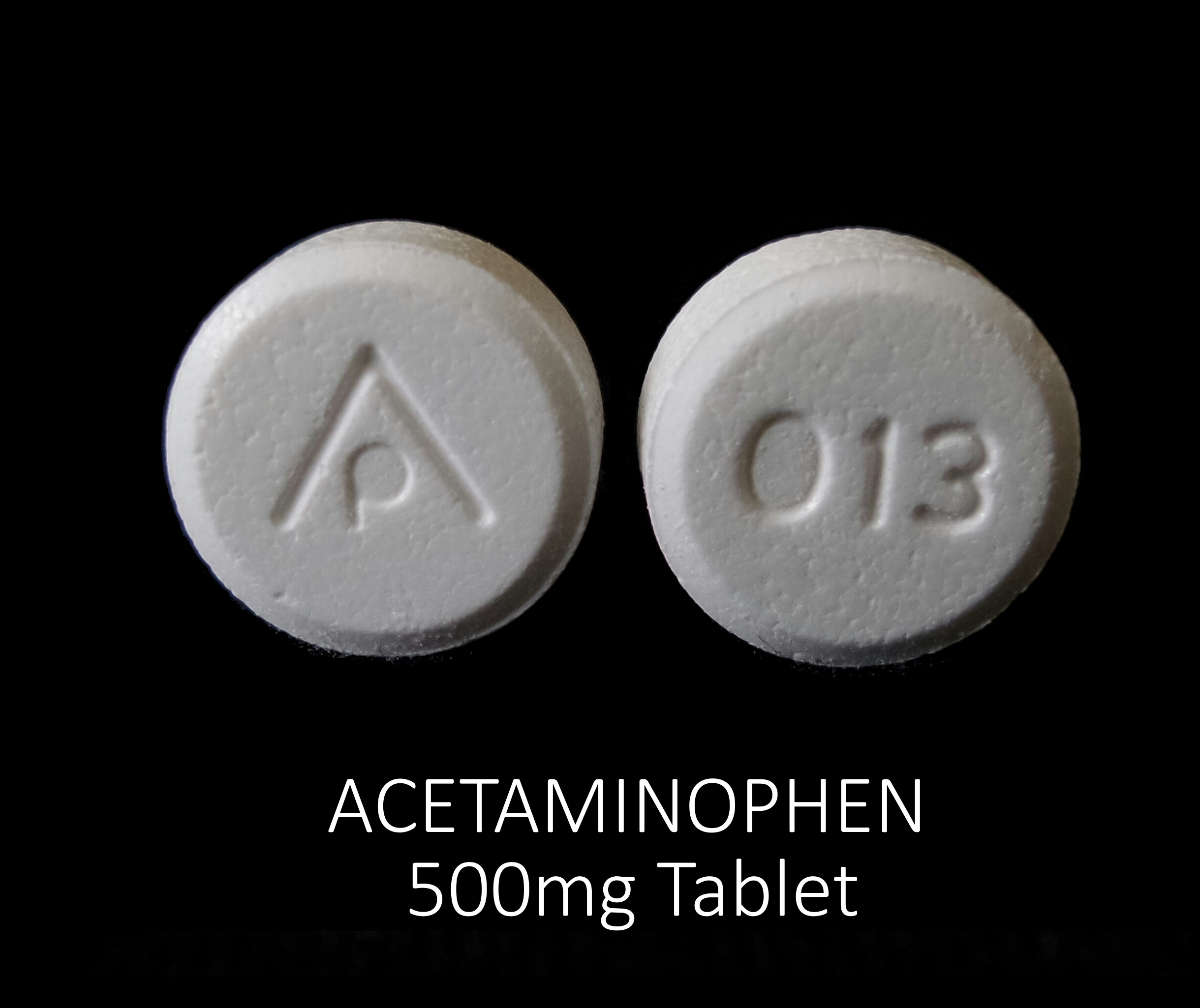 Acetaminophen 500 mg AP 013