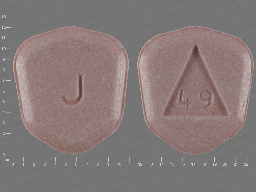 Pill Imprint J 49 (Acyclovir 400 mg)