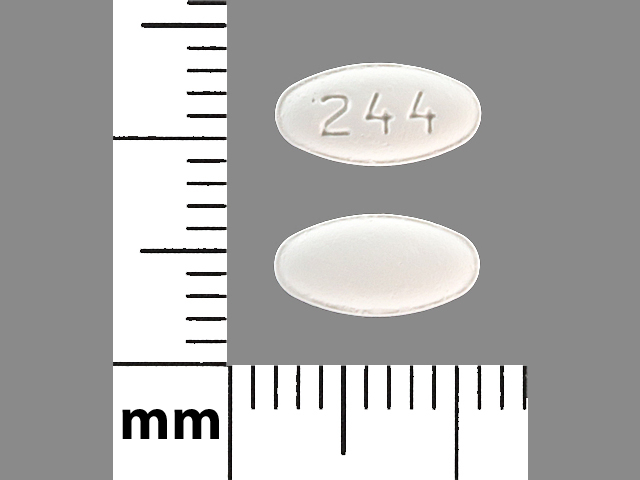 Carvedilol 6.25 mg 244