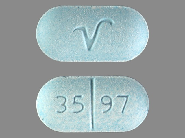 Acetaminophen and Hydrocodone Bitartrate 35 97 V