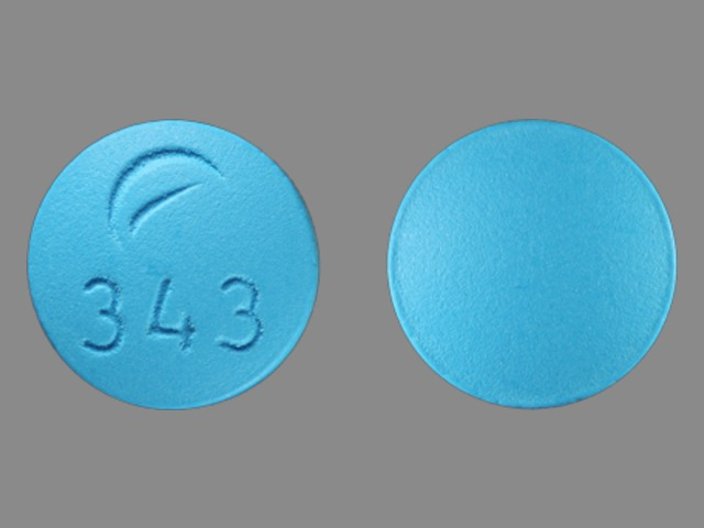 Desipramine hydrochloride 50 mg Logo 343