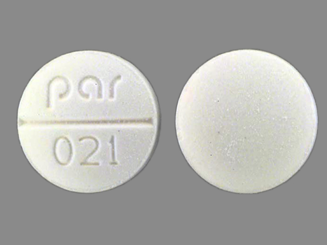 Pill Imprint par 021 (Isosorbide Dinitrate 10 mg)