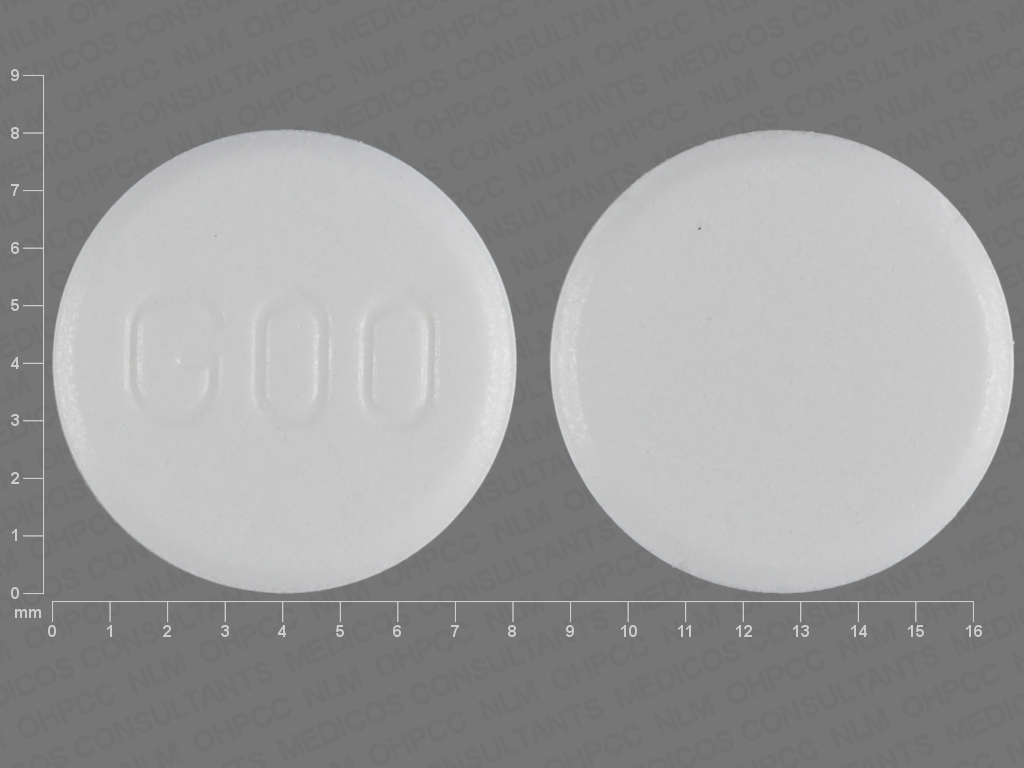 Pill Imprint G00  (Plan B One Step levonorgestrel 1.5 mg)