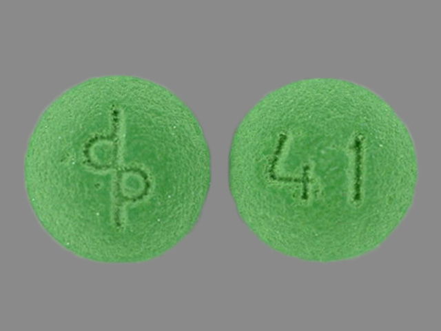 Pill Imprint dp 41 (Cenestin synthetic conjugated estrogens, A 0.3 mg)