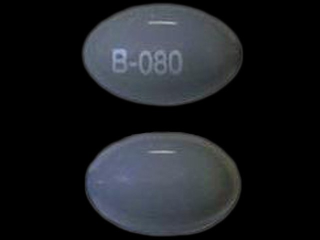 Pill Imprint B-080  (Somnote 500 mg)