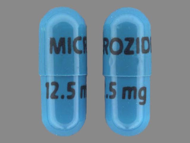 Pill Imprint MICROZIDE 12.5 mg (Microzide 12.5 mg)