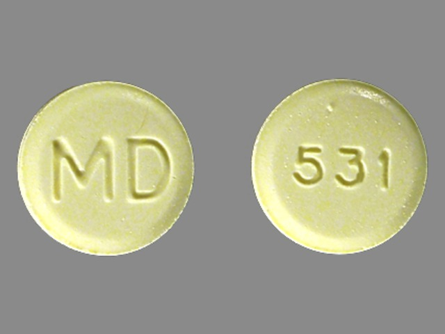 Methylphenidate Hydrochloride MD 531