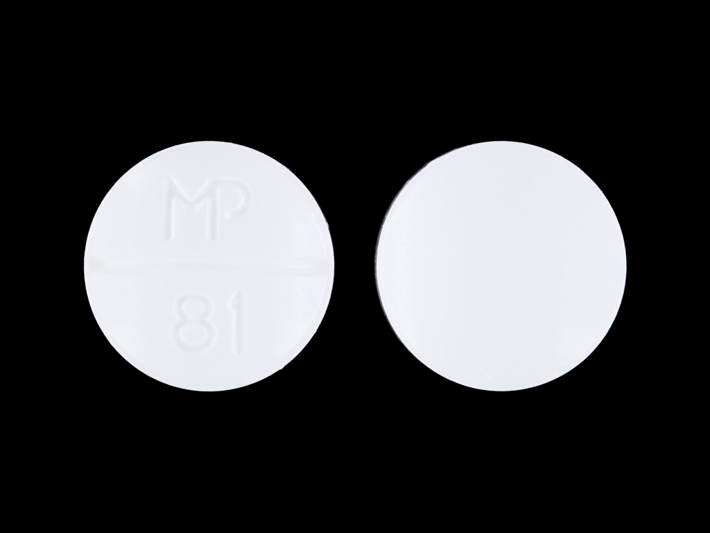 Sulfamethoxazole and trimethoprim 400 mg / 80 mg MP 81