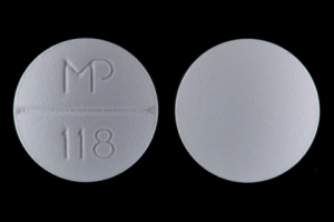 Trazodone hydrochloride 50 mg MP 118