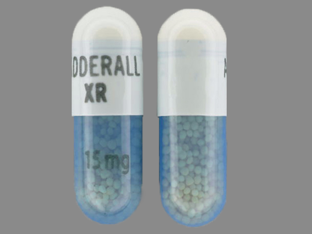 Adderall XR ADDERALL XR 15 mg
