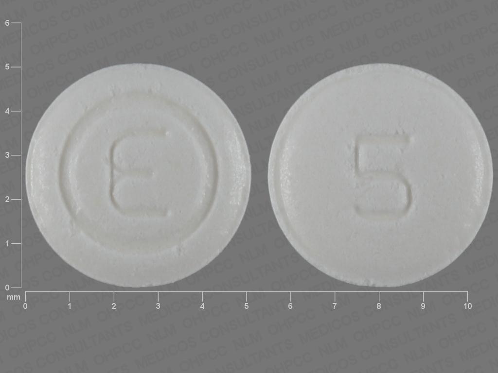 Ondansetron hydrochloride (orally disintegrating) 4 mg E 5