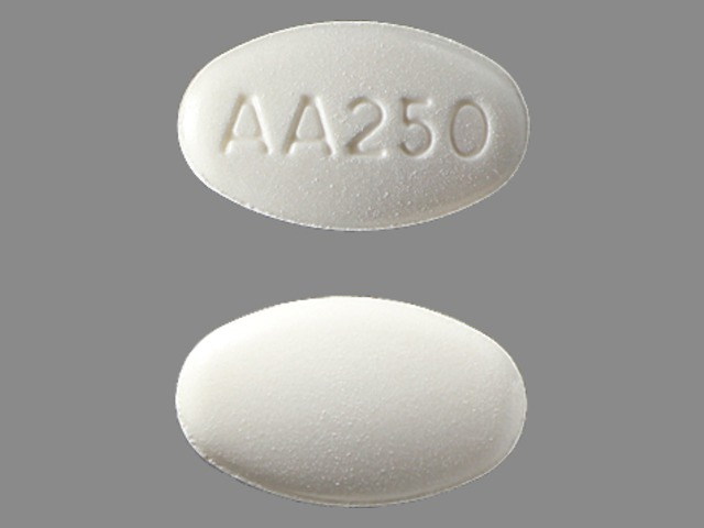 Pill Imprint AA250 (Zytiga 250 mg)