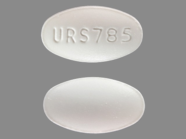 Pill Imprint URS785  (Urso 250 mg)