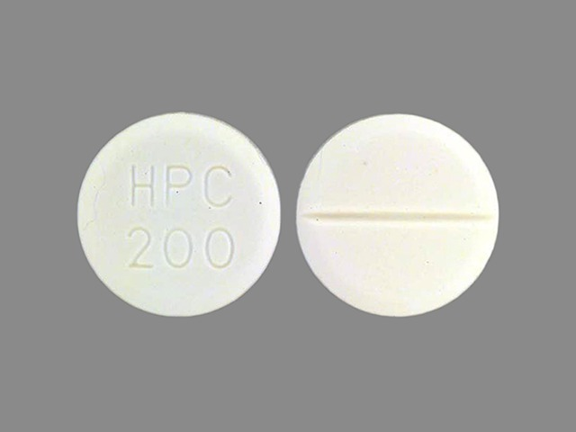 Pill Imprint HPC 200 (Robinul 1 mg)