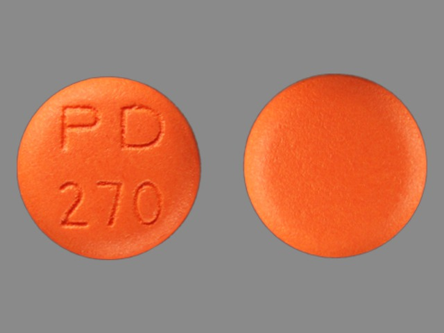 Pill Imprint PD 270 (Nardil 15 mg)