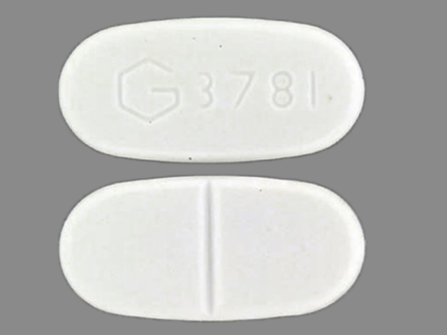 Glyburide (micronized) 1.5 mg G 3781