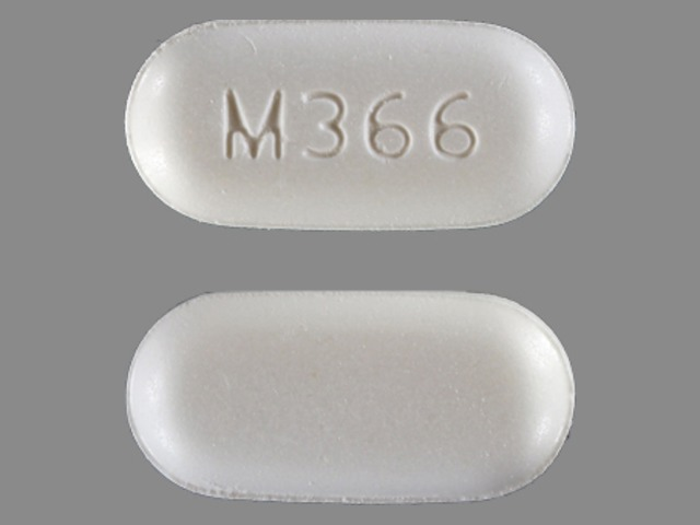 Acetaminophen and Hydrocodone Bitartrate M366