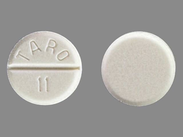 Pill Imprint TARO 11  (Carbamazepine 200 mg)