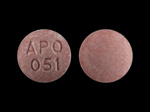 Enalapril maleate 10 mg APO 051