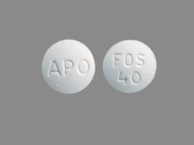 Fosinopril sodium 40 mg APO FOS 40
